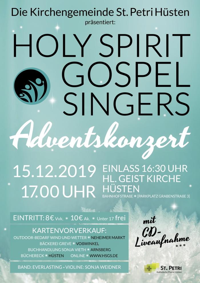 Holy Spirit Gospel Singers Adventskonzert